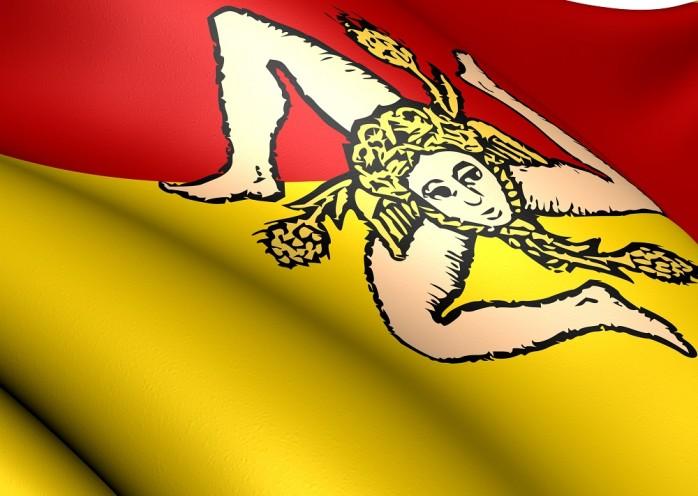 Sizilien Vlagge